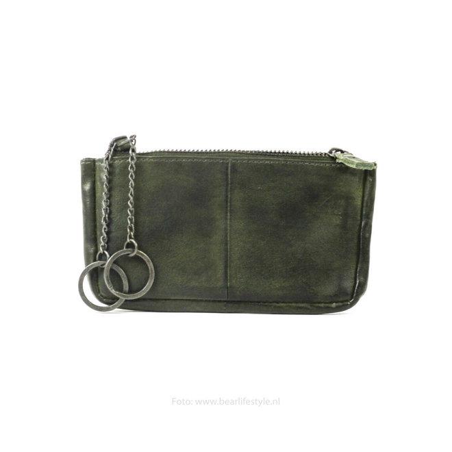 Sleutel/losgeld portemonnee CP7090 - Groen