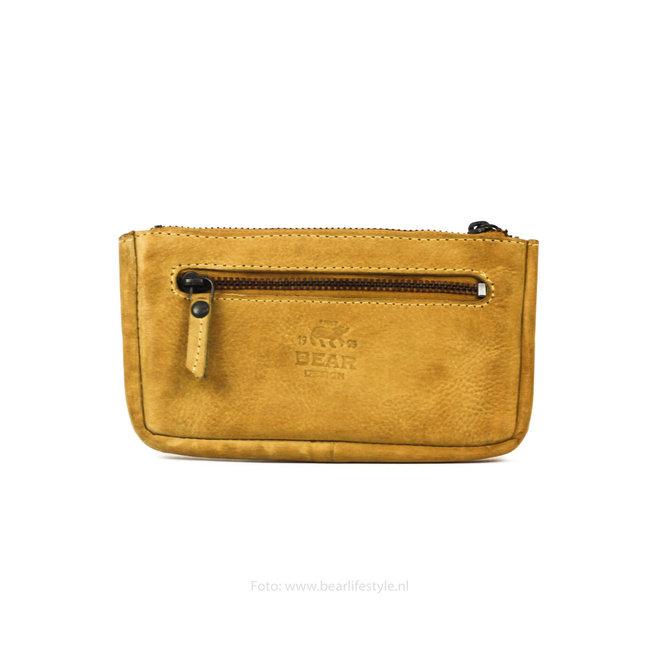 Sleutel/losgeld portemonnee CP7090 - Geel