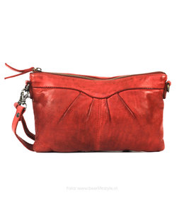 Bear Design Clutch/schoudertasje 'Jessy' CL36593 - Rood