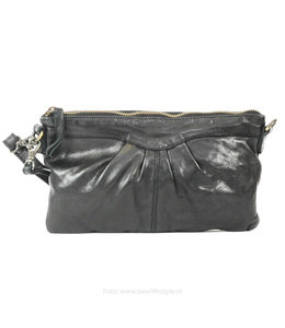 Bear Design Clutch/schoudertasje 'Jessy' CL36593 - Zwart