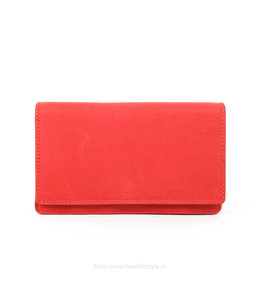Bear Design Overslag portemonnee Klassiek FR782 - Rood