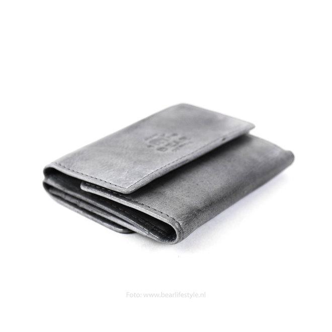 Klein portemonneetje 'Jolie' - Steel CL14618