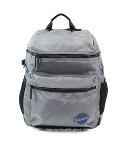 Vespa 'Holiday' Rucksack schwarz / grau
