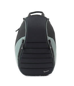 Vespa 'Seat' rugzak zwart/grijs