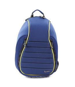 Vespa 'Seat' rugzak donker blauw