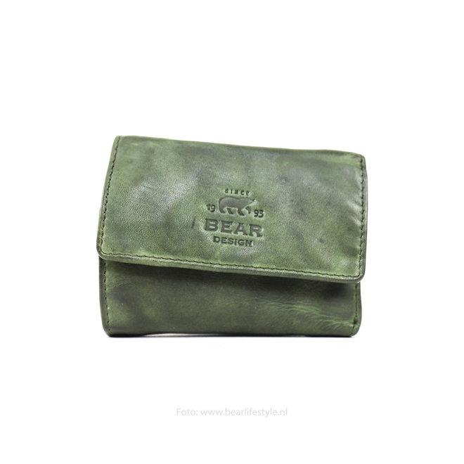 Klein portemonneetje 'Jolie' - Groen CL14618