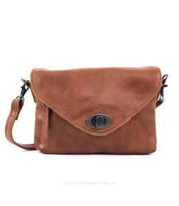 Bear Design Kleine Tasche 'Amber' CP 1676 Cognac