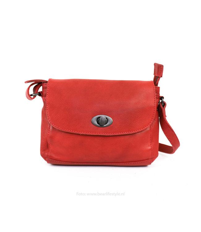 Bear Design Kleine Tasche 'Candice' CP 1687 rot