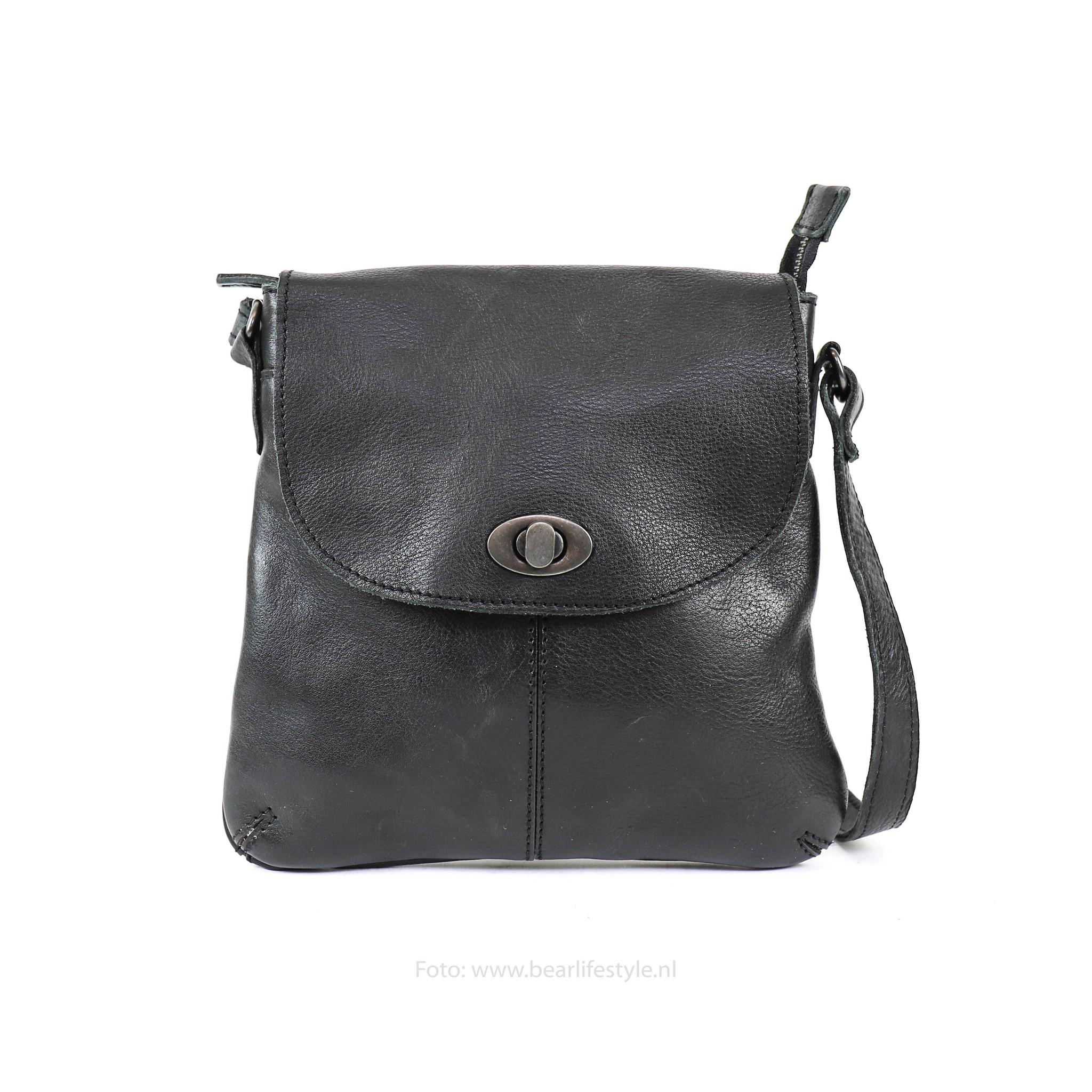 neuartiger Stil gut aus x einzigartiger Stil Bear Design Kleine Tasche 'Marilyn' CP 1686 Schwartz