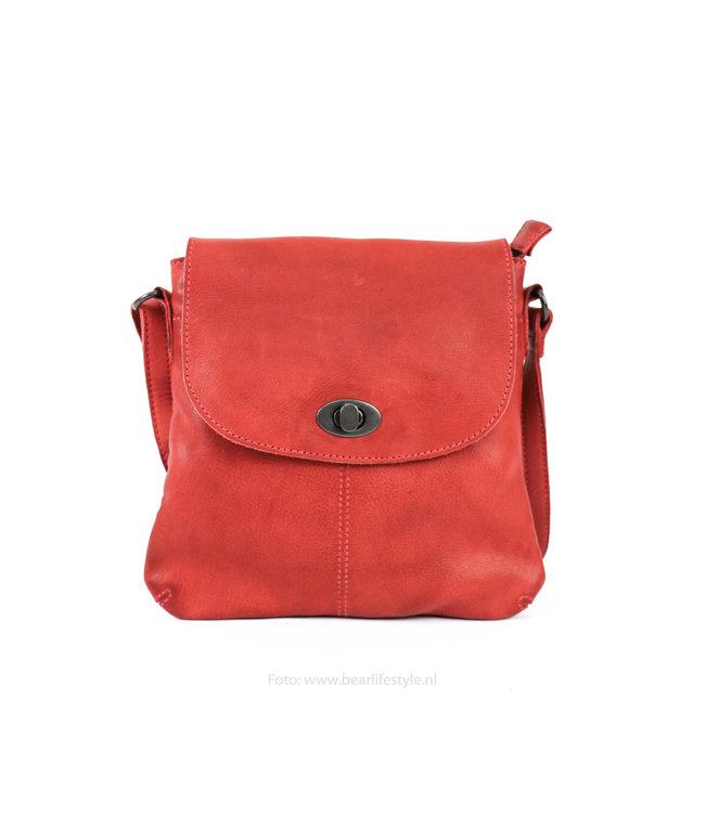 Bear Design Kleine Tasche 'Marilyn' CP 1686 Rot