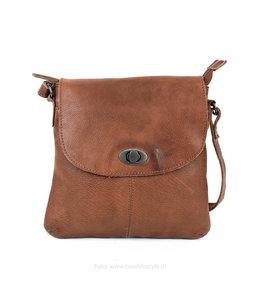 Bear Design Kleine Tasche 'Marilyn' CP 1686 Cognac