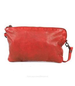 Bear Design Clutch / Umhängetasche 'Dori' - CL 36222 Rot