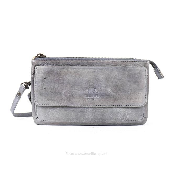 Geldbörse / Tasche Romy - Stahl CL15567