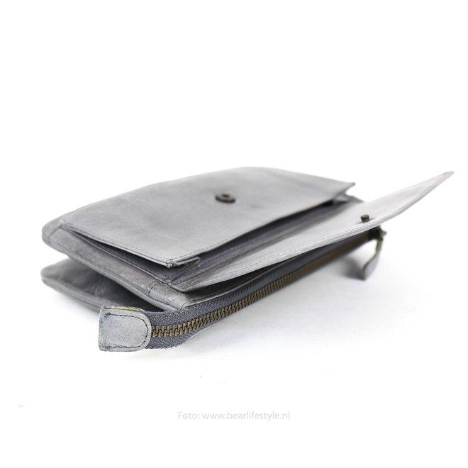 Portemonnee-/Tasje Romy - Steel CL15567