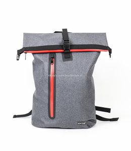 "New Rebels ""Vasos"" waterproof backpack Donkergrijs"