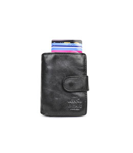 Bear Design Anti Skim wallet - CL 15689 Zwart