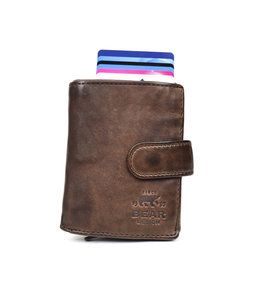 Bear Design Anti Skim wallet - CL 15689 Bruin