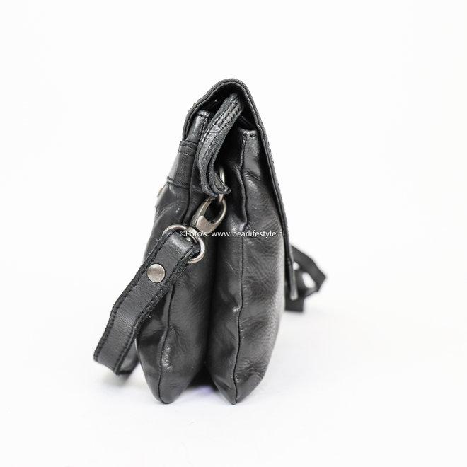 Enveloptasje 'Mai' - CL 36810 Zwart