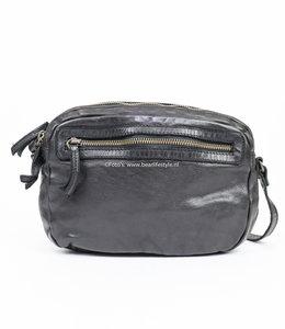 Bear Design Kleine Reißverschlusstasche 'Niene' CL 36695 Schwarz