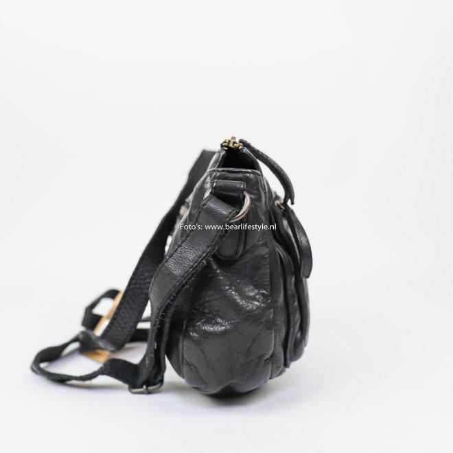 Schoudertasje 'Mauri' CL 35649 - Zwart