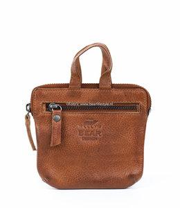 Bear Design Schlüsseltasche CP4101 Cognac