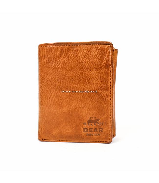 9e0c0aa8a8a Bear Design Billfold CL7252 - Heren portemonnee leder rood - BEAR ...