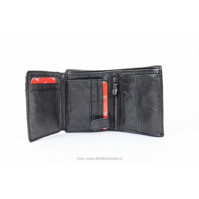 Billfold Hoog - Zwart CL7252