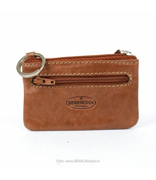 Bear Design Dun sleuteletui - Cognac RO7847