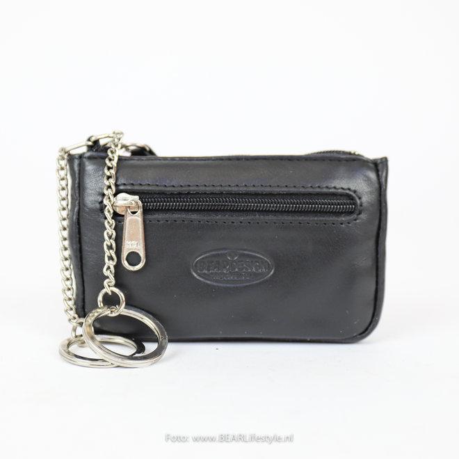 Sleutel/Losgeld Portemonnee FR7616 Zwart