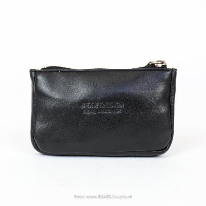 Sleutel/Losgeld Portemonnee FR 7616 Zwart