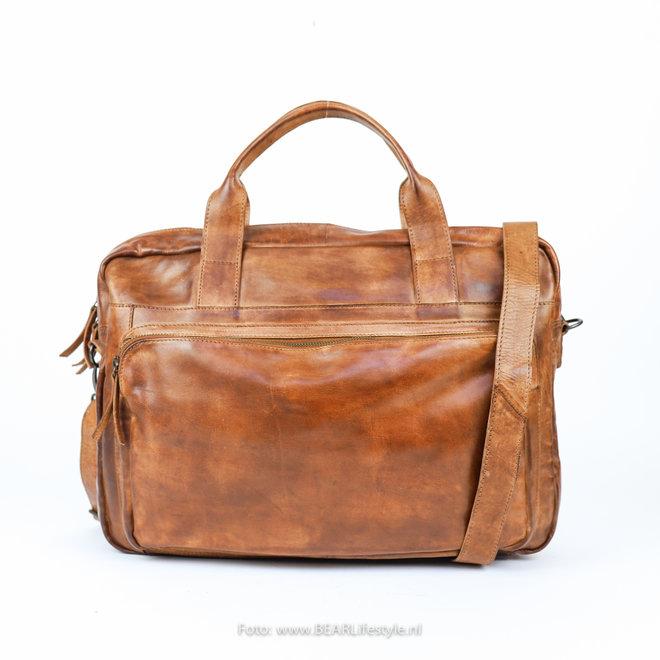"""Laptoptasche 'Dani' 17"""" CL 36824 Cognac"""