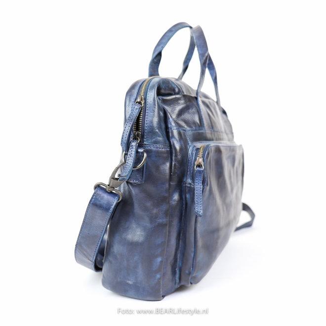 "Laptoptas 'Dani' 17"" CL 36824 Blauw"