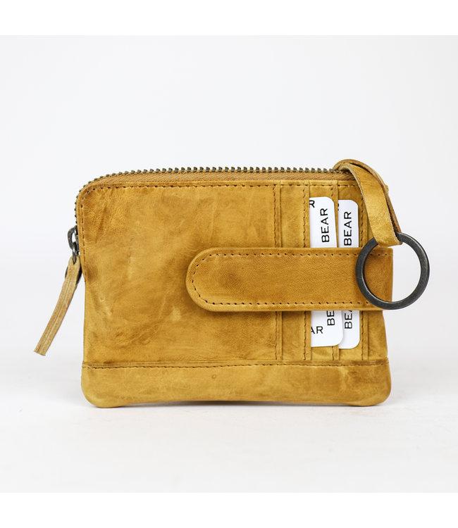 Bear Design Portemonnaie / Schlüsseletui - CP4110 Gelb 'Carrie'