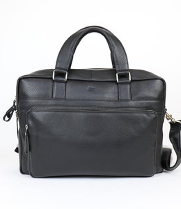 Bear Design Laptoptasche 'Egbert' - Schwarz AM1712