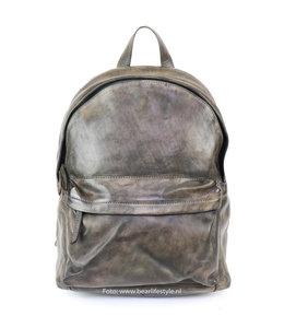 Bear Design Rucksack Leder 'Vince' - Grau CL 36501