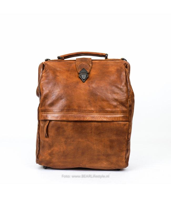 Bear Design Dokterstas CL 36646 'Ross' - Cognac