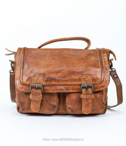 Bear Design Rucksack / Aktentasche CL 36772 'Emma' - Cognac