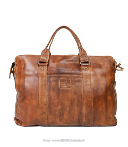 Bear Design Laptoptasche / Handtasche CL 36821 'Alex' - Cognac