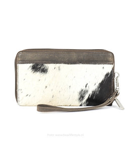Bear Design Zip Wallet / Clutch Cow - Braun HH9165-1