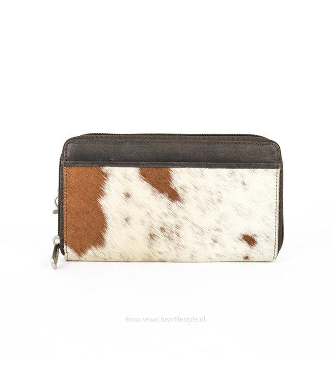 Bear Design Ritsportemonnee/Clutch Cow - Bruin HH9165-8