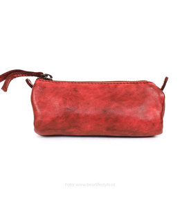 Bear Design Ledertasche - Rot CL6258