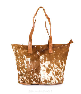 Bear Design Shopper Cow CL2088 - Cognac