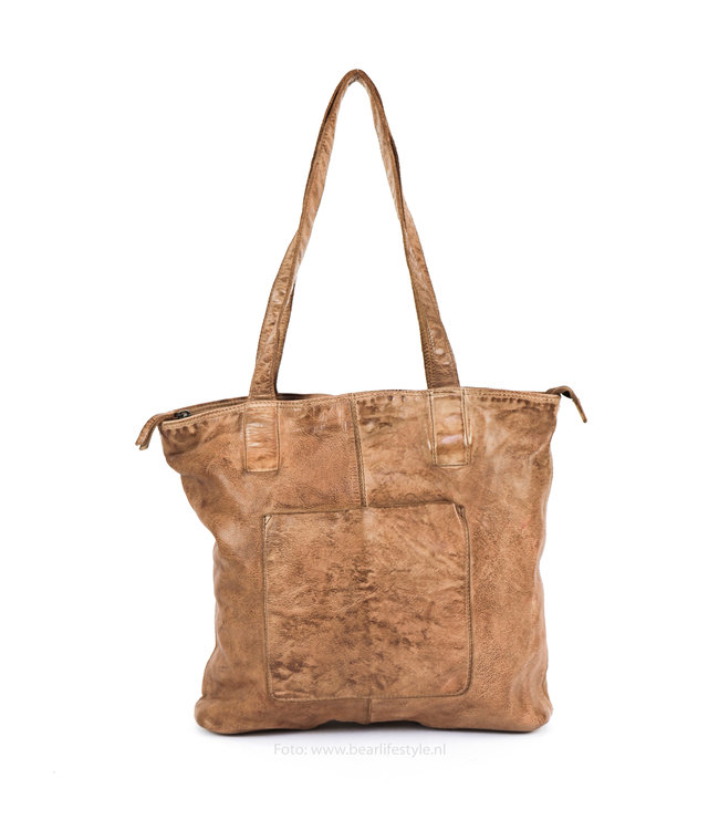 Bear Design Shopper Beige CL35010