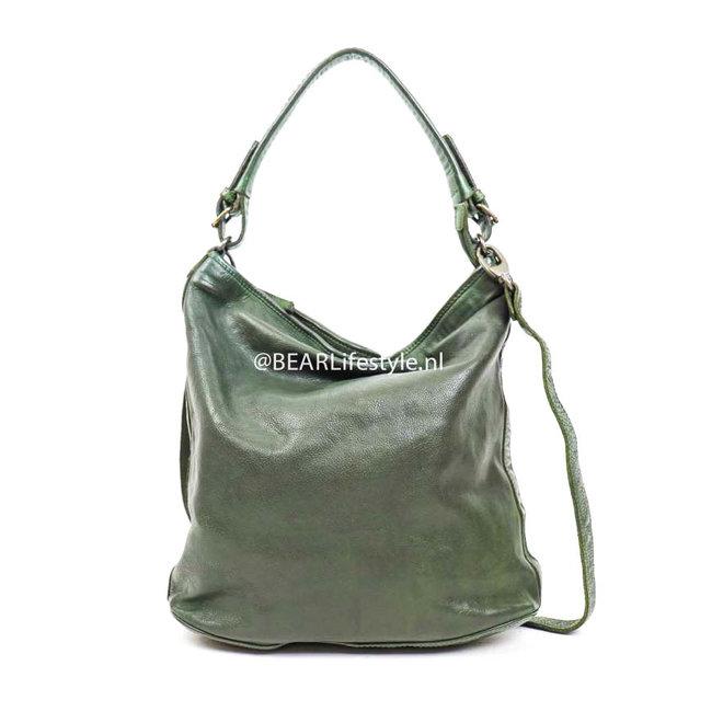 Schoudertas 'Tess' Groen CL 32851