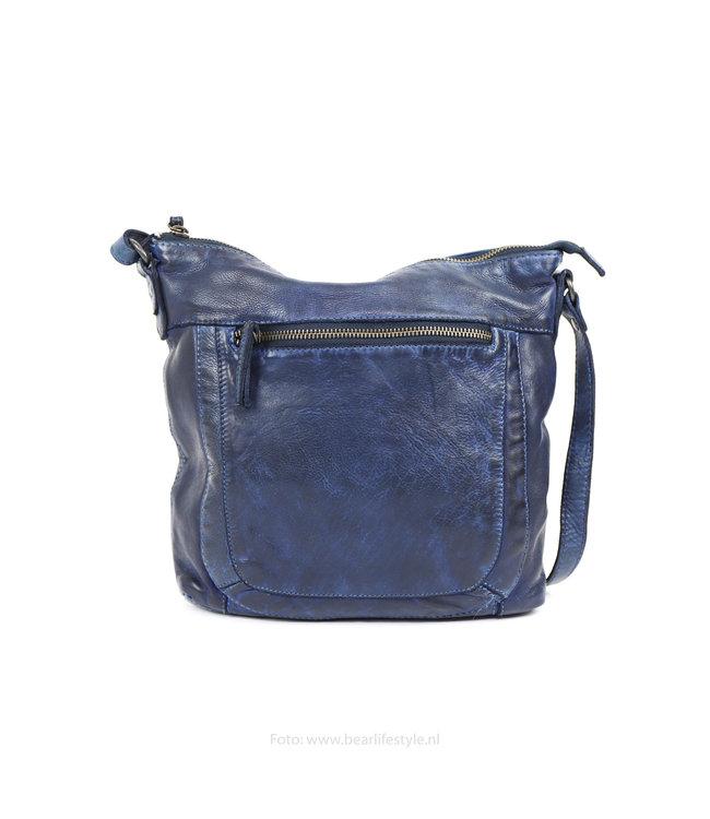 Bear Design Schoudertas CL35625 'Kylie' - Blauw