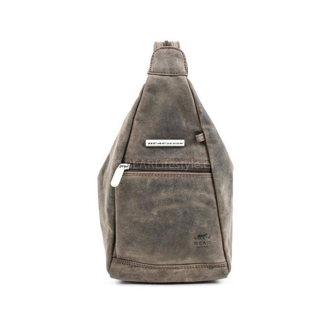 Rucksack/Schultertasche Hannie HD5555 Braun