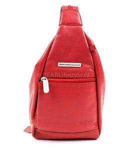 Bear Design Rucksack Hannie B5555 Rot