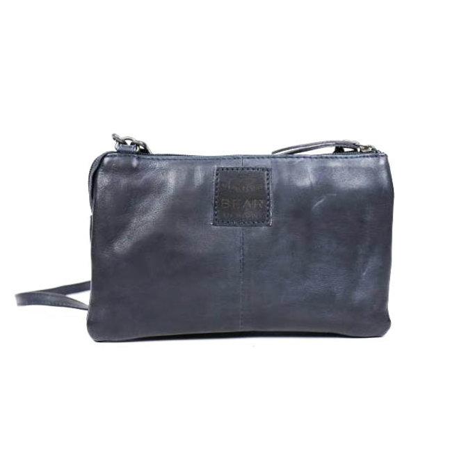 Portemonnee tasje  'Uma' - Blauw CP30996