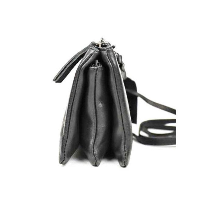 Portemonnee tasje XL 'Uma' - Zwart CP30996