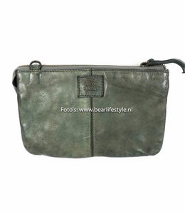 Bear Design Geldbörse Tasche / Umhängetasche XL 'Uma' - Clay CL30996